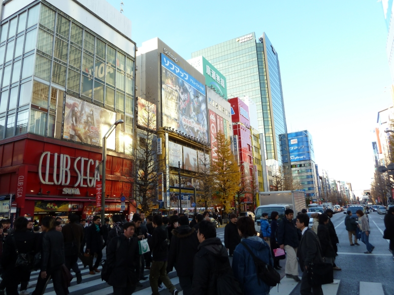 The famous electric district in Tokyo, Akihabara is an otaku's paradise.  It is one of the most unique districts in Tokyo.  The great thing about it is that it attracts so many tourists, but it is still made for the game/cosplay/maid loving otaku who