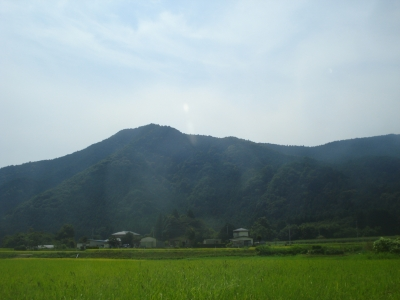 Here in Tochigi prefecture, the scenery is beautifully dominated by rice fields and wooded mountains.