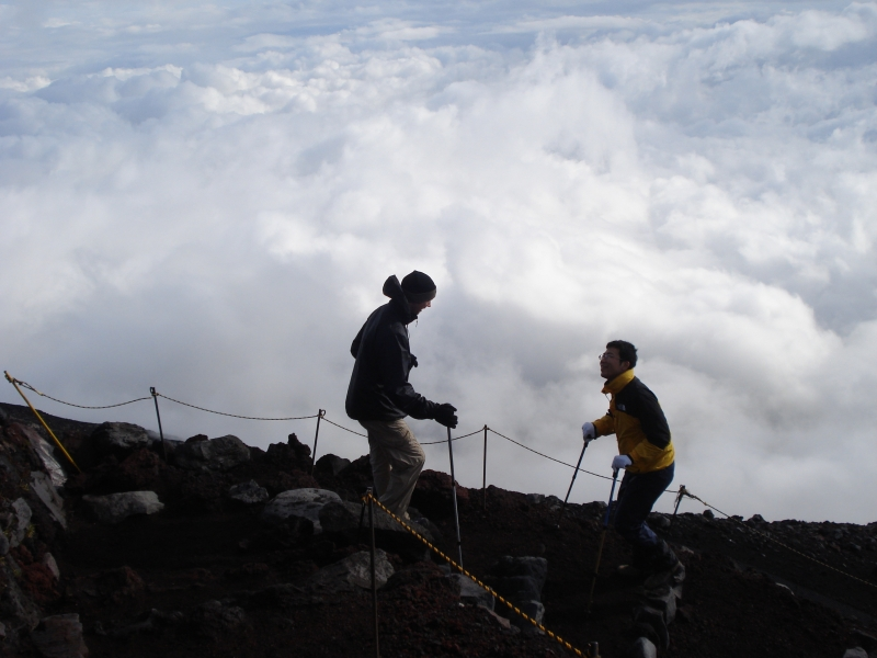 You are likely to come across plenty of friendly people if you decide to give Mt. Fuji a climb.